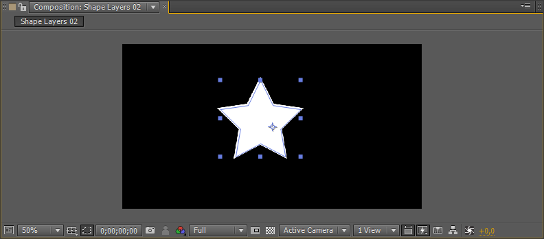 how to delete shape layer in after effects